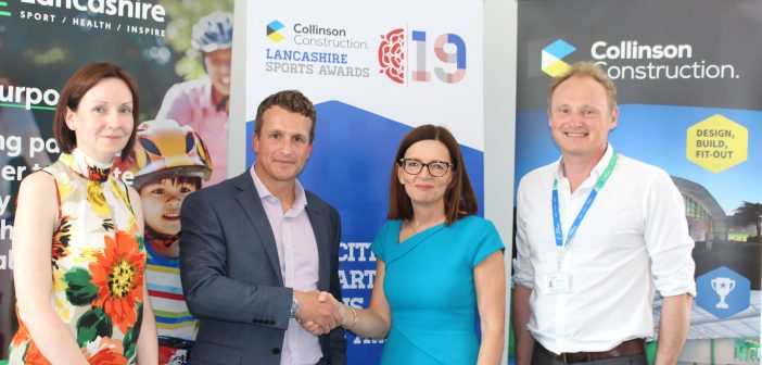 Active Lancashire announce Collinson Construction as new Headline Sponsor of the Lancashire Sports Awards 2019
